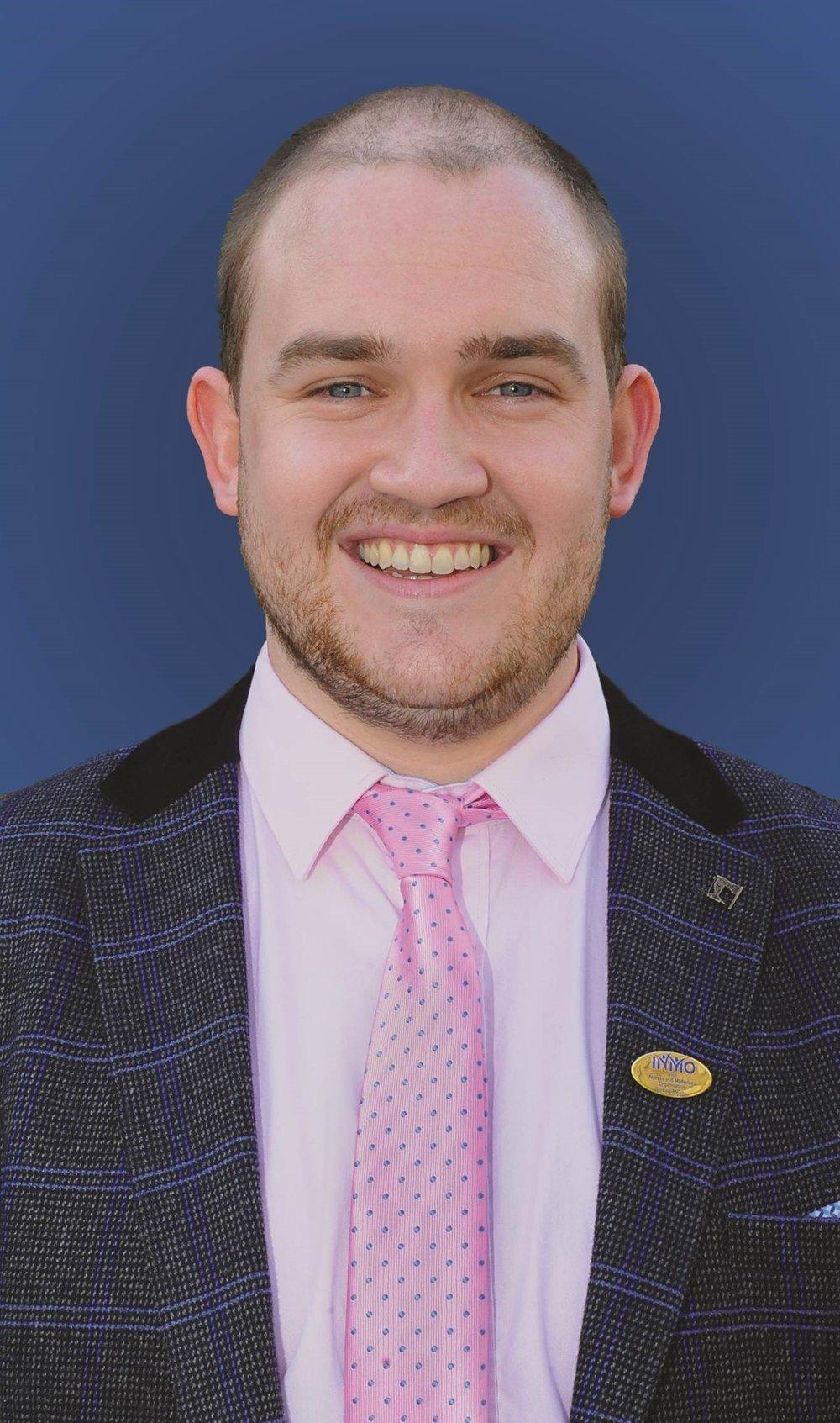 Liam Conway   Vice President 2017-2020  Novice Nurse- Dublin,Ireland Graduate Studies