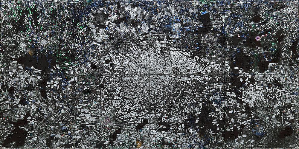 Jack Whitten  Atopolis: For Édouard Glissant , 2014