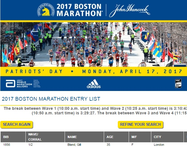 boston marathon start