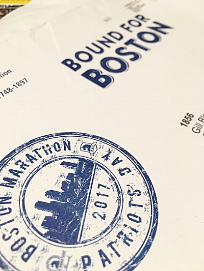 Boston Marathon Passport
