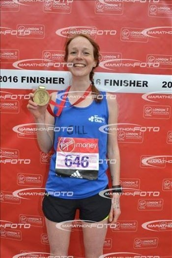 London Marathon Finsher