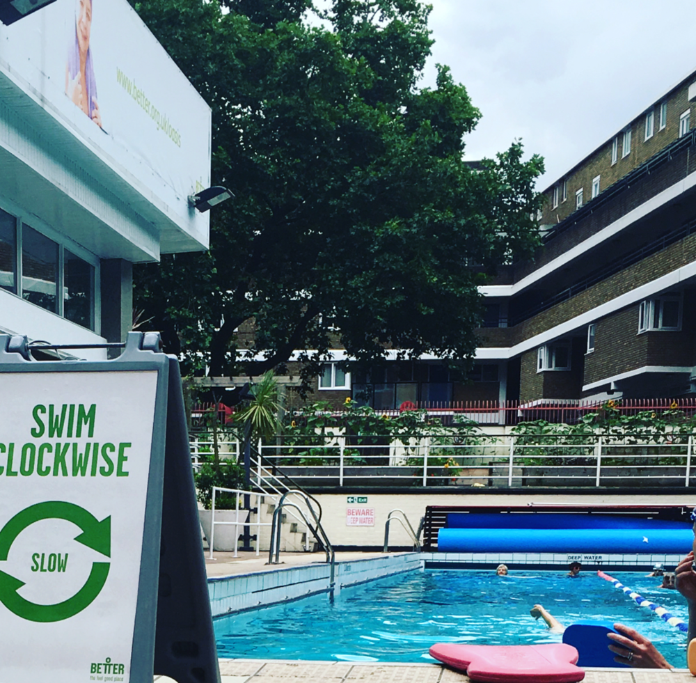 Oasis Leisure Centre Outdoor Pool London