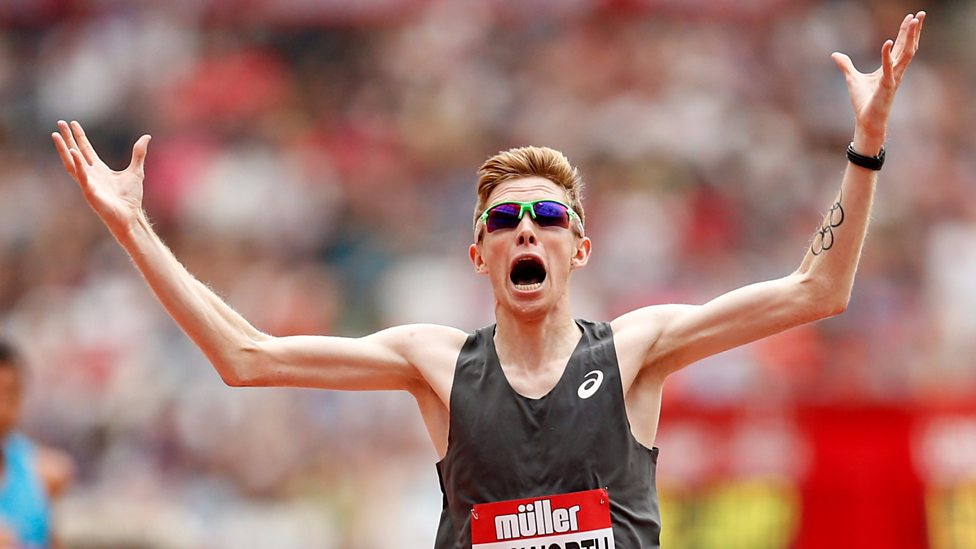 Tom Bosworth Breaks World Record Race Walk Anniversary games