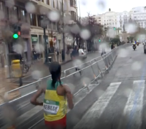 kebede world record valencia