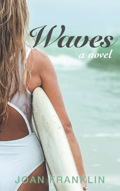girl in a white swim suit going surfing free ebook kindle createspace book cover