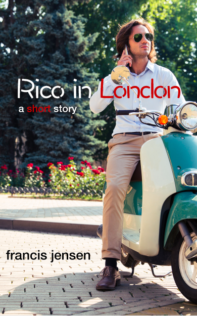 guy on a scooter ebook cover