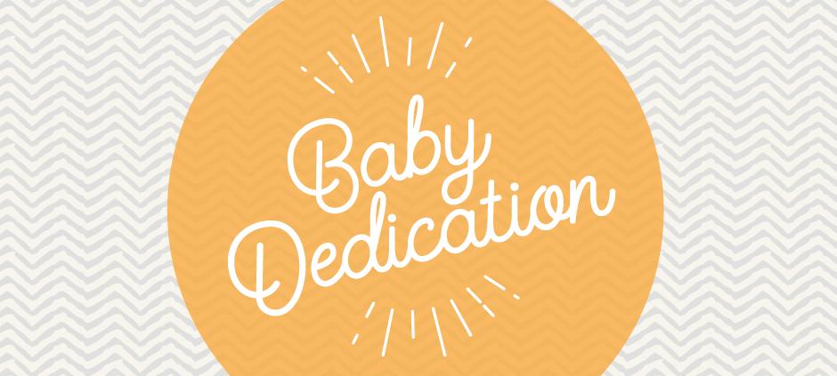 Baby Dedication Brookside Church