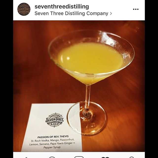 Thanks @seventhreedistilling for creating this tasty #cocktail using our #Ginger #Peppercorn #Agave #agavenectar #tasty #mixology #drinks #cocktails #delish #food #foodie #yummy #foodblogger #nyc #nola #california #miami #boston #seattle #denver #austin #houston #chicago #local #jazzfest #photooftheday #strochvodka #vodka  #instagood