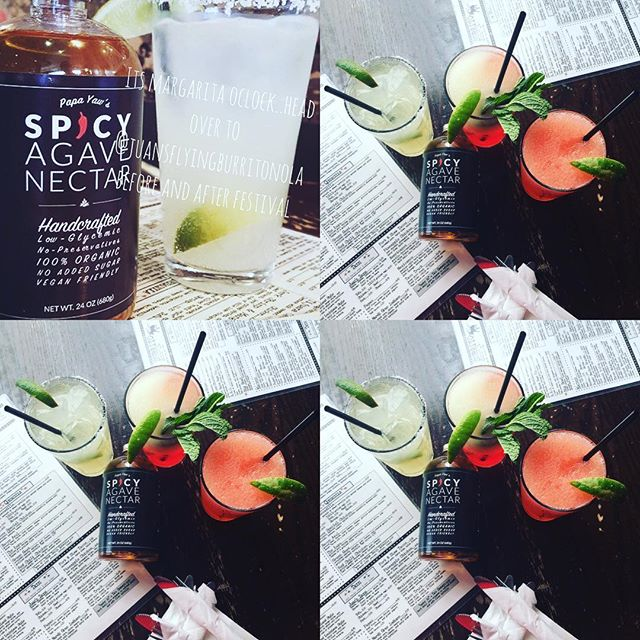 It's #cincodemayo !!!! Was over to @juansflyingburritonola for grub and a #delicious #Spicy #Agave #Margarita #nolaeats #nola #party #nomnom #yummy #foodie #drinks #foodblogger #instafood