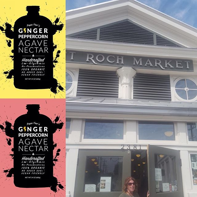 It's market time!!! We will be @st.rochmarket Urban Market tomorrow. Stop by our table, taste a sample and shop #foodie #yummy #local #agavenectar #nola #instafood #shop #eat #delish