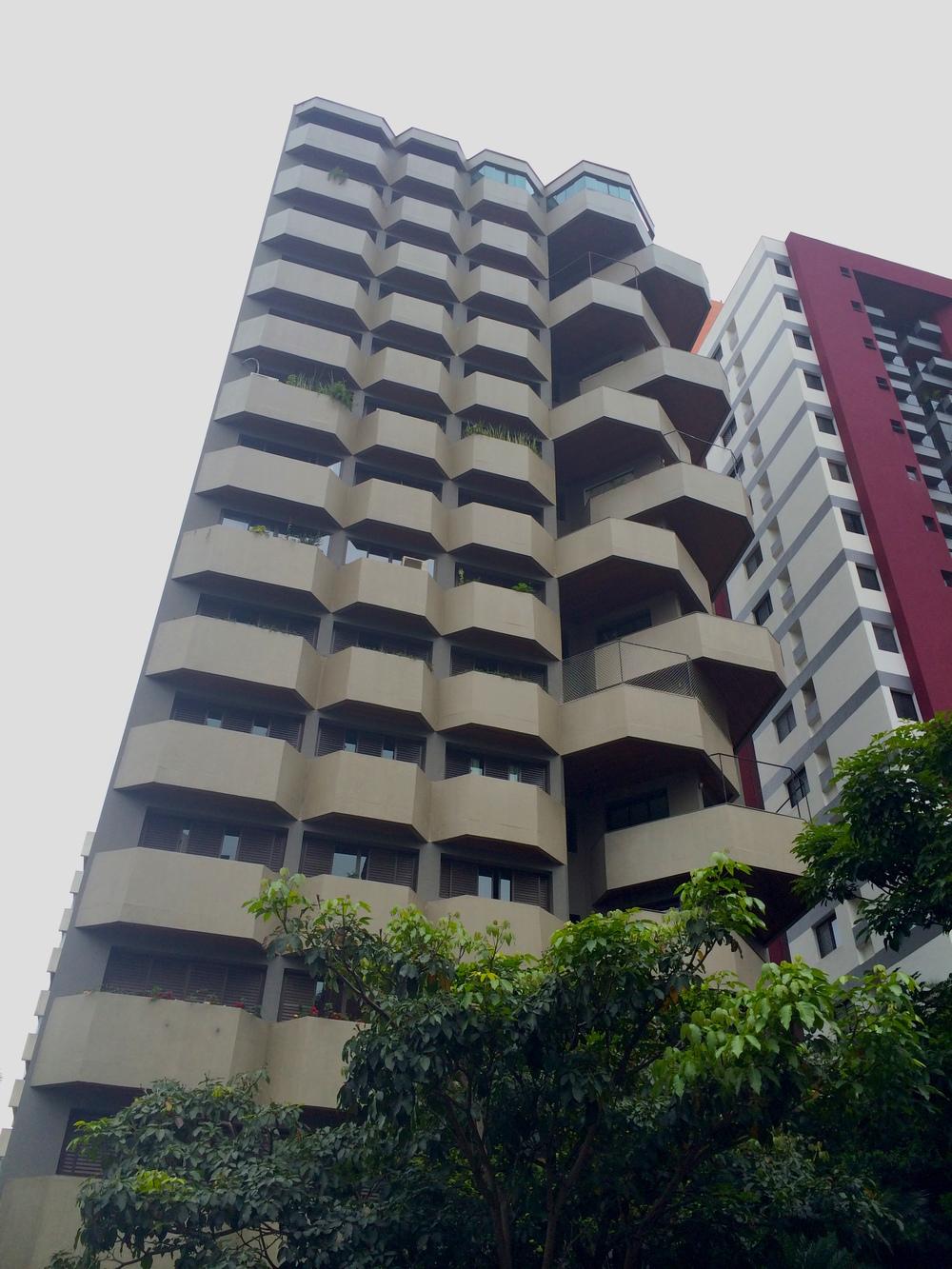 Architecture in Sao Paulo, Brazil