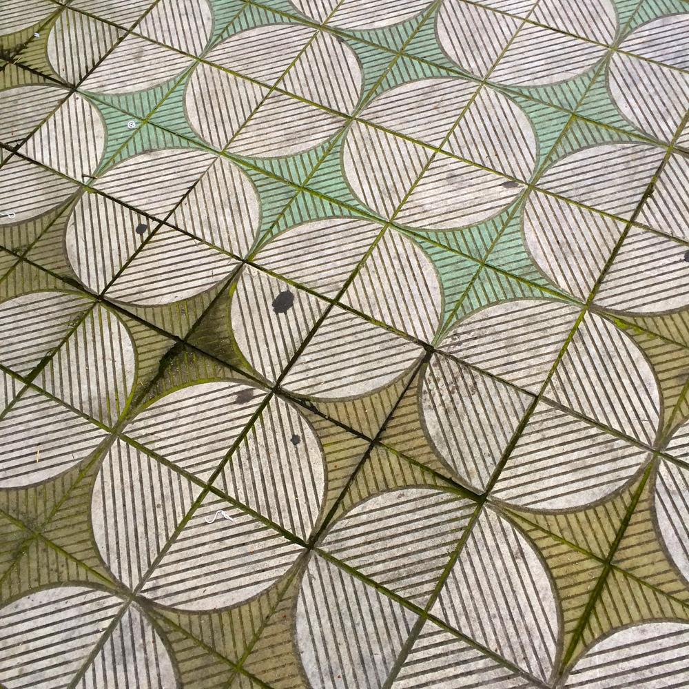 Tiles in Sao Paulo, Brazil