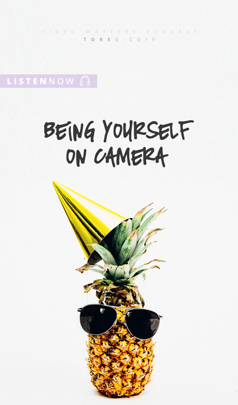 009: How To Be Yourself On Camera (aka authenticity is not a dirty word) - in this episode of the #videomatterspodcast I'm talking about how to show up on camera in an authentic way