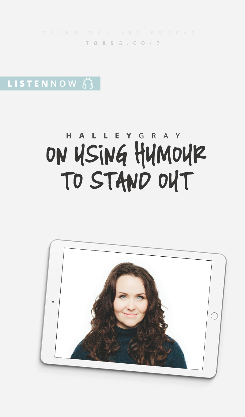 007: Halley Gray on Using Humour to Stand Out - Video alone isn't really enough to stand out, but combine it with humour and you can end up with a brand that's memorable, entertaining, and profitable. Today I'm talking to Halley Gray, CEO of Evolve + Succeed on how she uses humour in her business to help her stand out