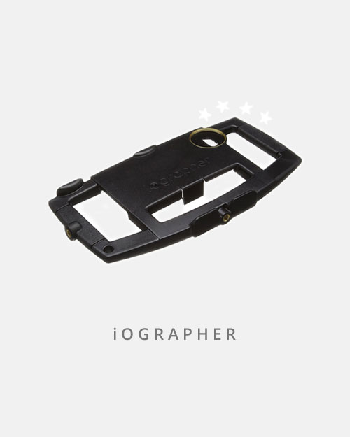 This handy case holds more than your phone, you can add lights, lenses and mics to make your mobile set up truly mobile.