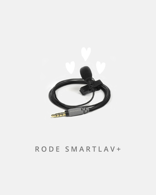 This little lavalier mic is a firm fave of mine. Able to plug into the headphone jack on your device, this little sucker records excellent quality sound.
