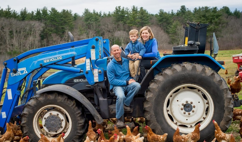 New Farm Management Arrives at Codman Farm!