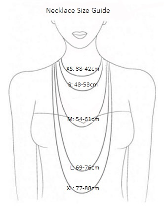 Necklace SIze Guide Klimbim
