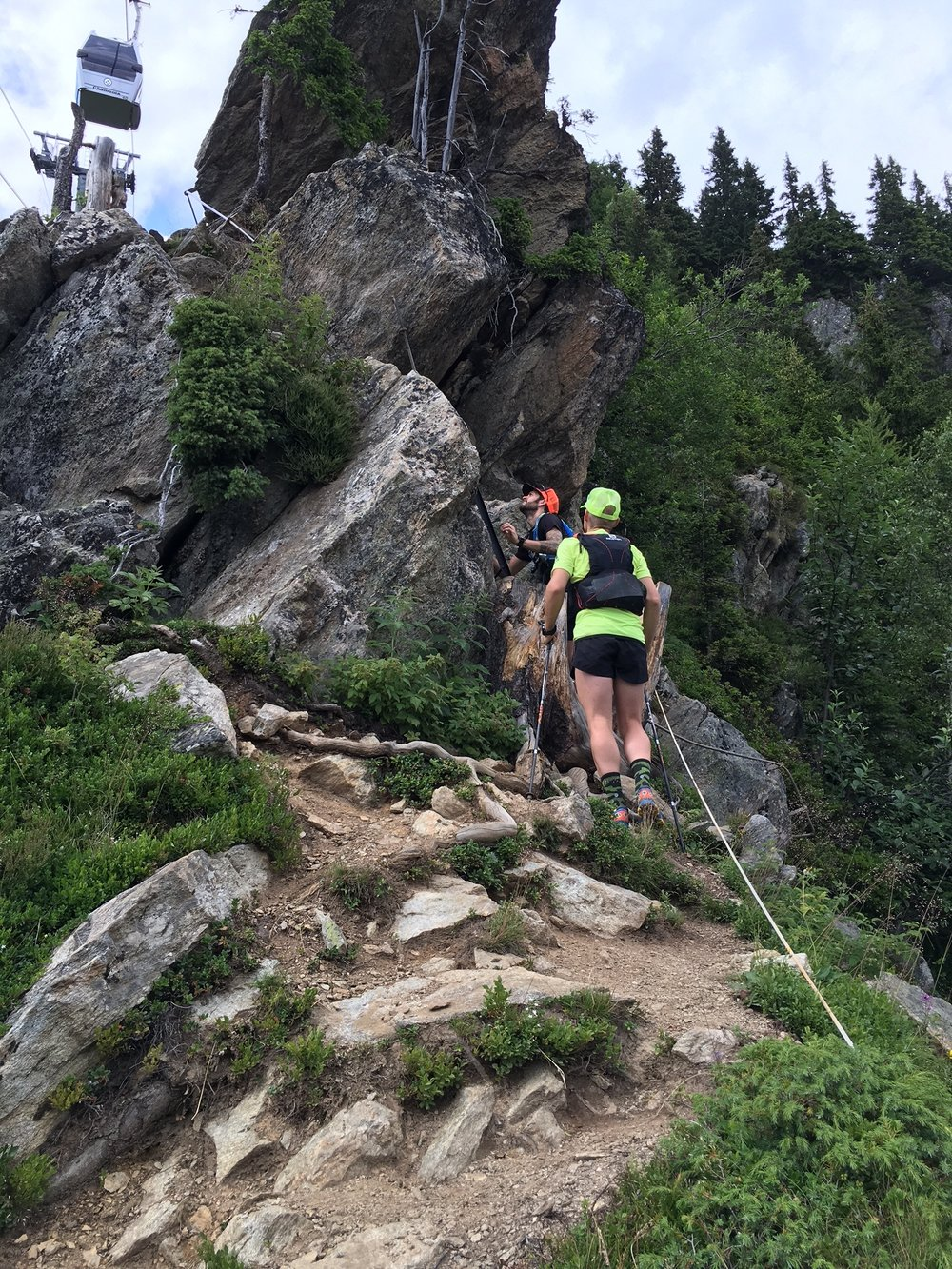 Reaching the top of the VKM