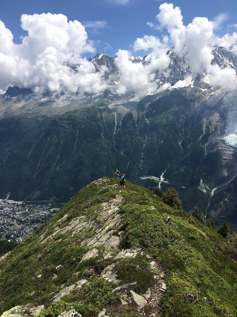 The Most Epic Ridge run