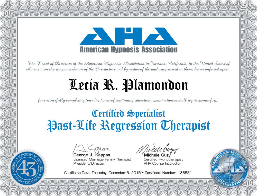 Past Life Regression Certificate.jpg