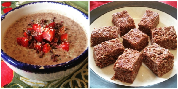 Chocolate Peanut Butter Pudding & Perfect Granola Bars