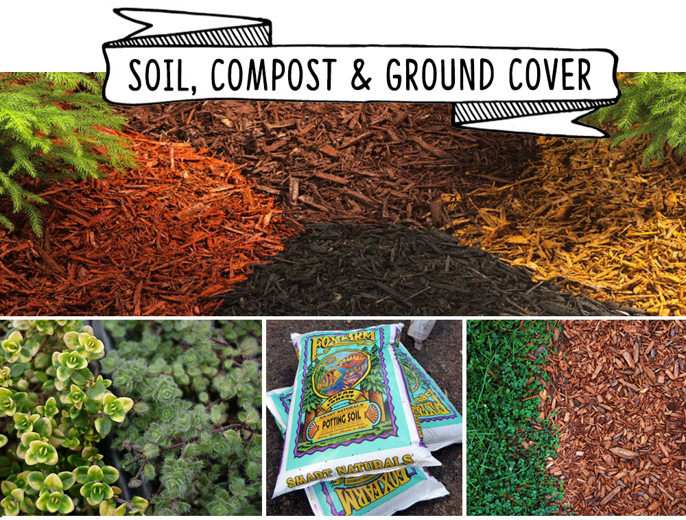 soil compost ground cover