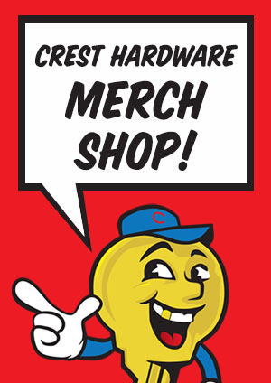 crest hardware merch shop