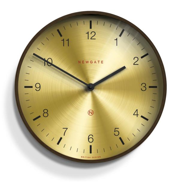 brass clock newgate