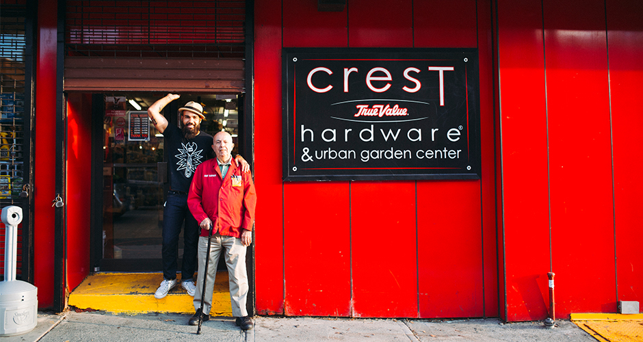 joe and manny in front of crest.jpg