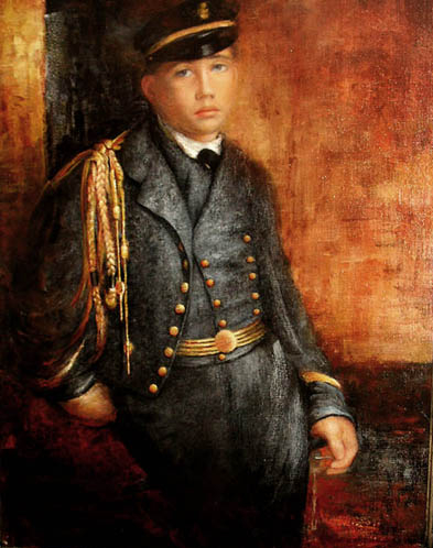 Copy of Achille De Gas in the Uniform of a Cadet by Degas