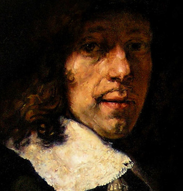 Copy of Portrait of a Gentleman with Tall Hat and Gloves by Rembrandt