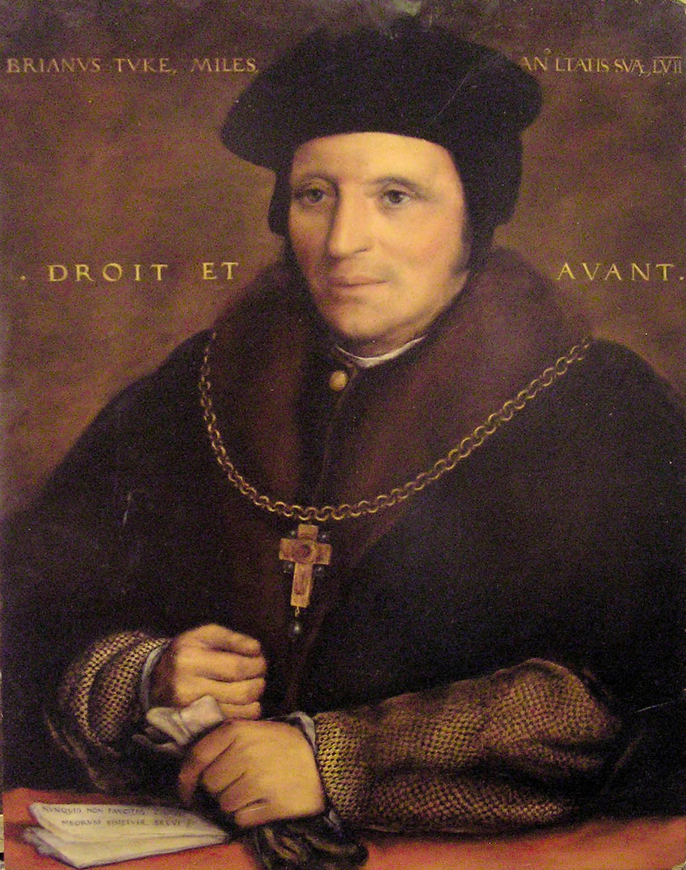 Copy of Portrait of Sir Brian Tuke by Hans Holbein the Younger