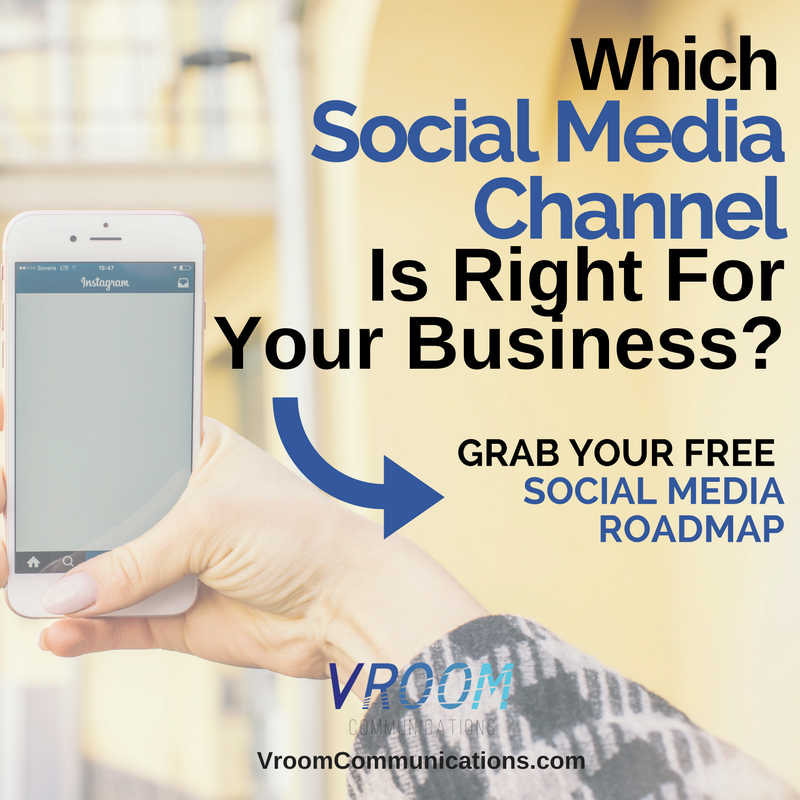 Find out which social media channel is right for your business