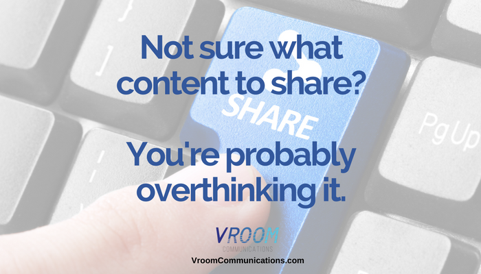 A guide to the type of content you should share with your audience
