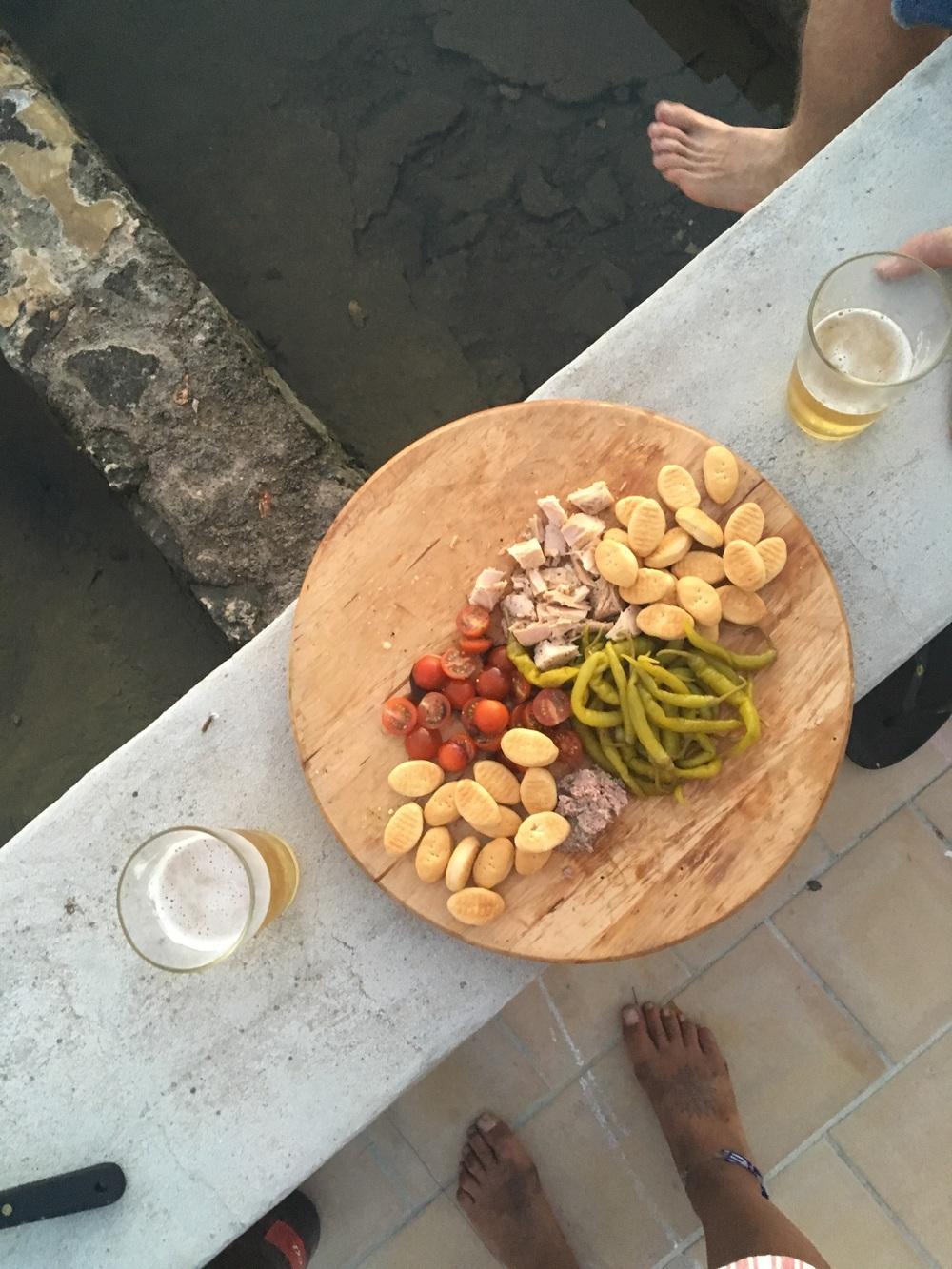 the aperitif