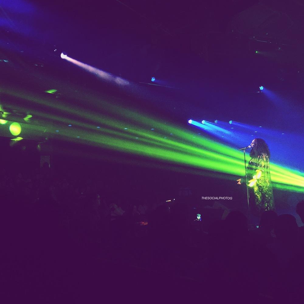 Marsha Ambrosius on Floetry Reunion Tour. Phoenix, AZ 2016