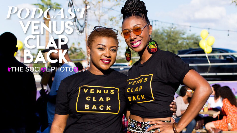 Venus Clapback podcast launch party. Photography by Deanna S Reid, The Social Photog.