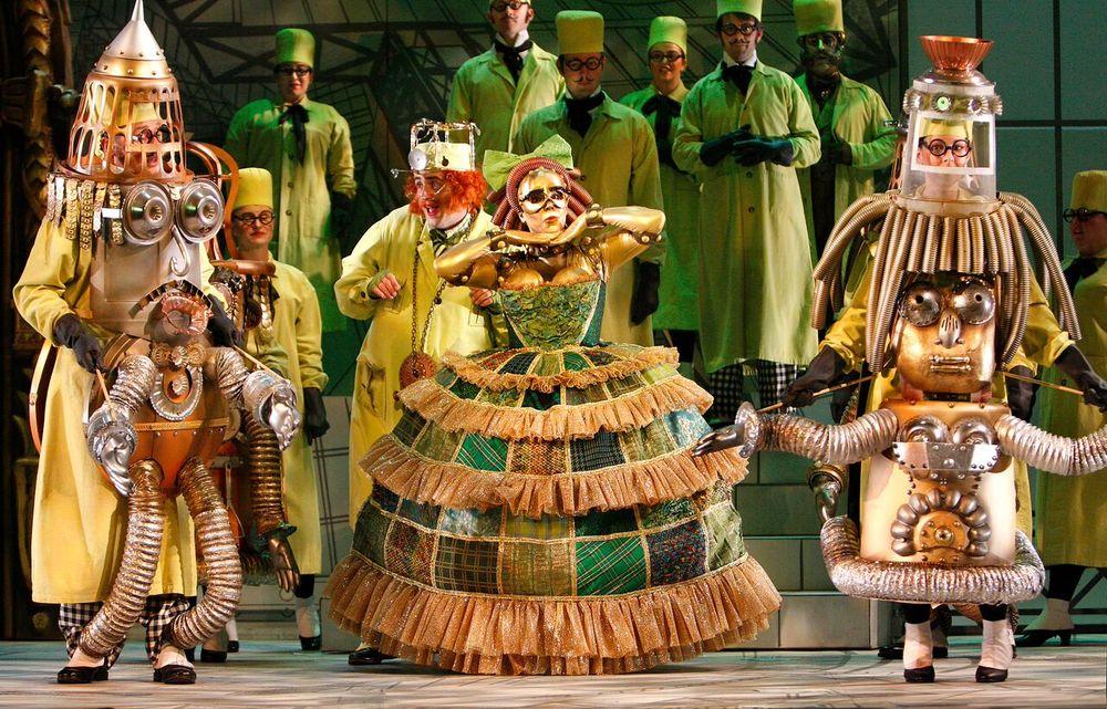 Olympia, Tales of Hoffmann, Boston Lyric opera