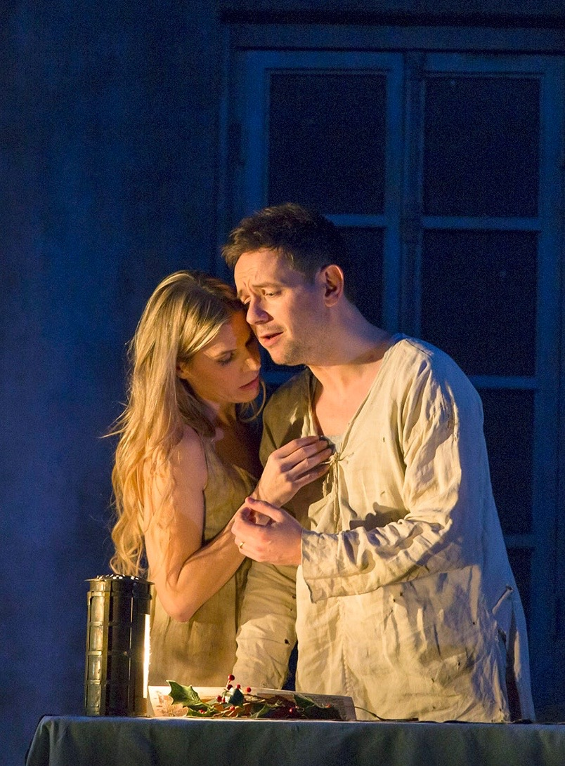 Agnes, Written on Skin, Covent Garden, with Iestyn Davies. Photo Stephen Cummisky