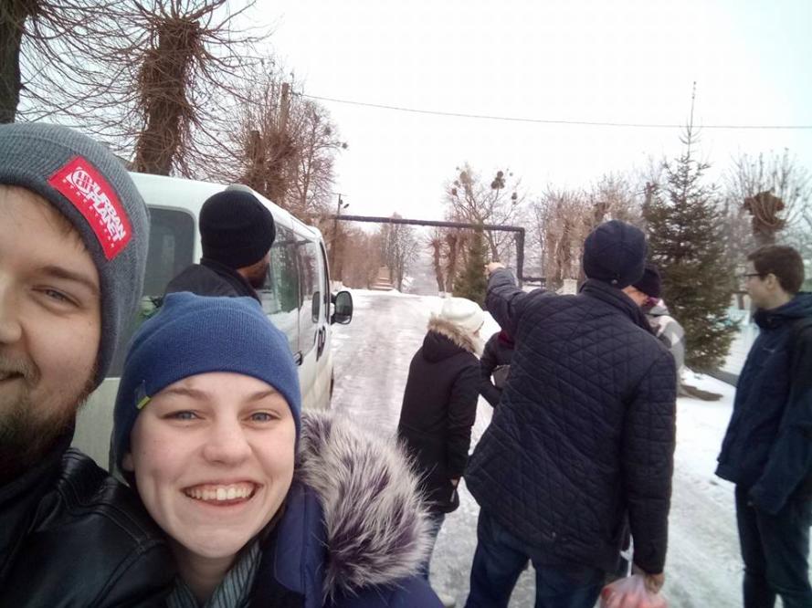 Sneaky selfie