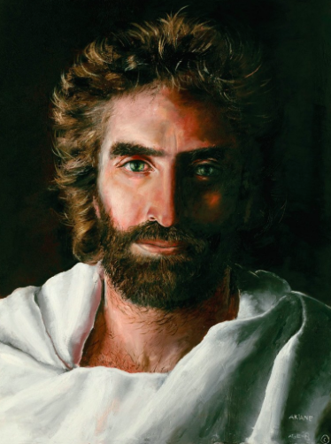 """Prince of Peace,"" by child prodigy Akiane Kramarik."