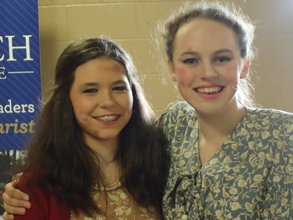 Annie, Al a Carte theater productions, spring of 2016. This was my senior year, when our homeschool tutorial class split into 3 different casts for 3 separate shows.