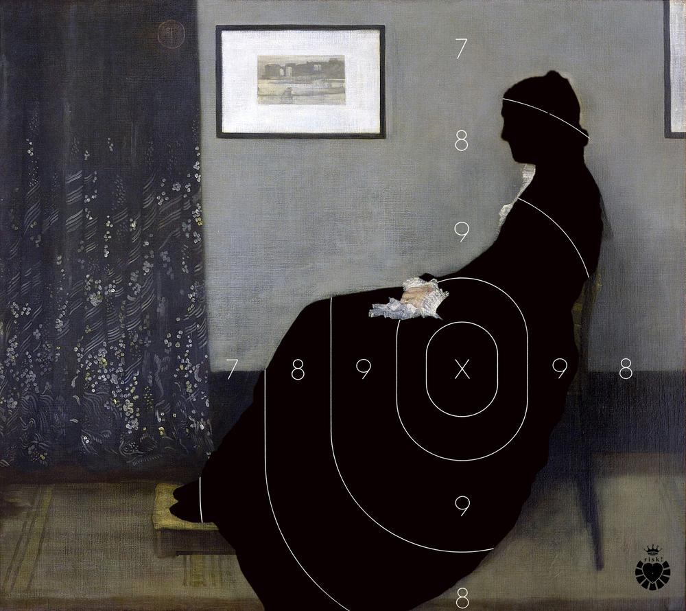 Whistler's Risk / 40 x 45
