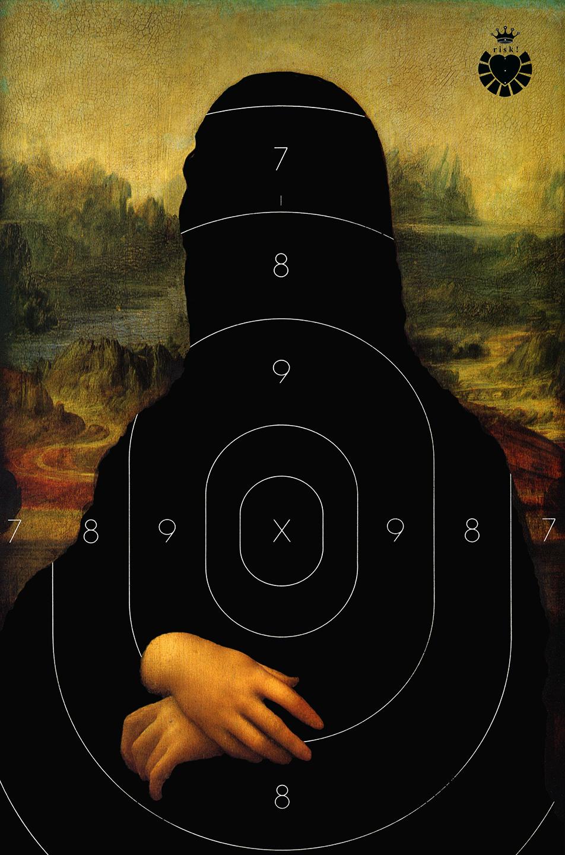 Da Vinci's Risk / 35 x 23