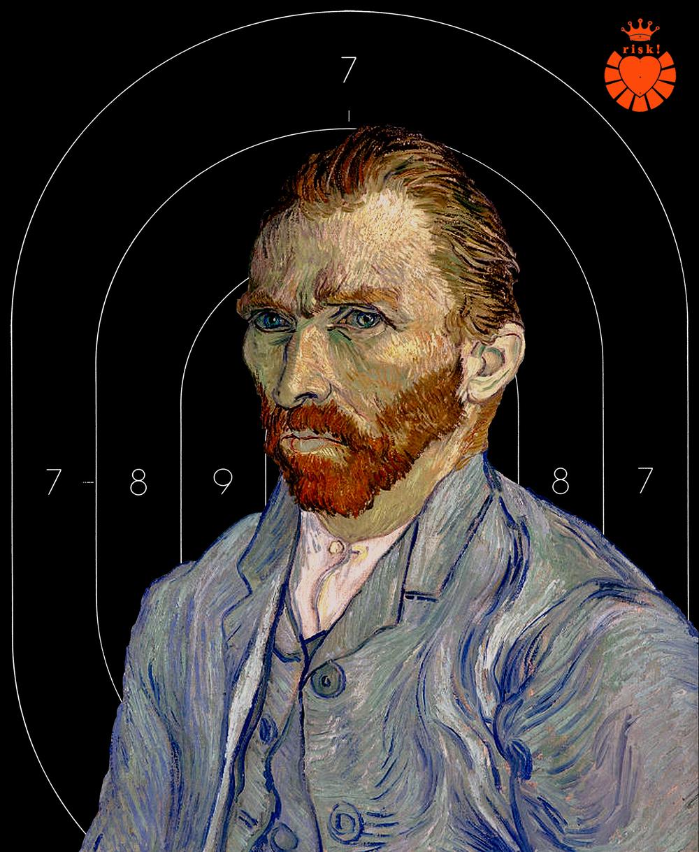 Van Gogh's Risk / 24 x 19 / Original Sold