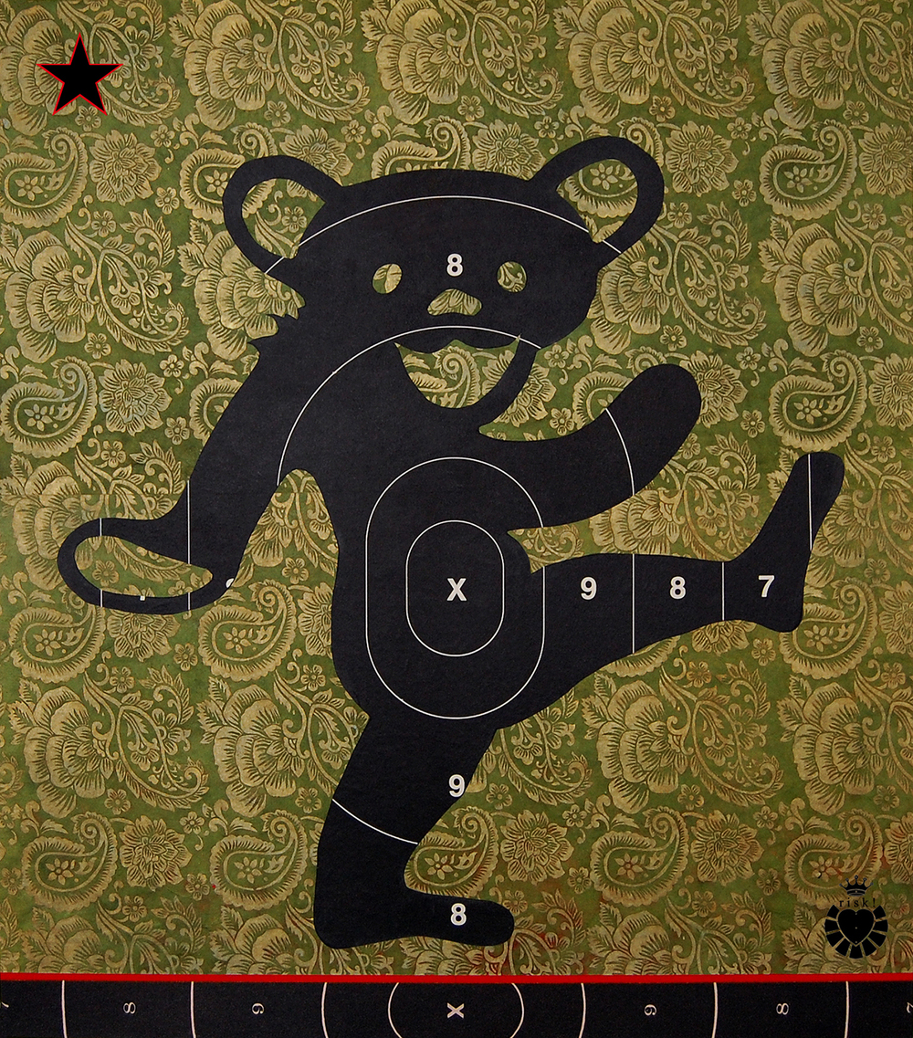 Bear's Choice / 24 x 21 / Original Sold / Prints Available