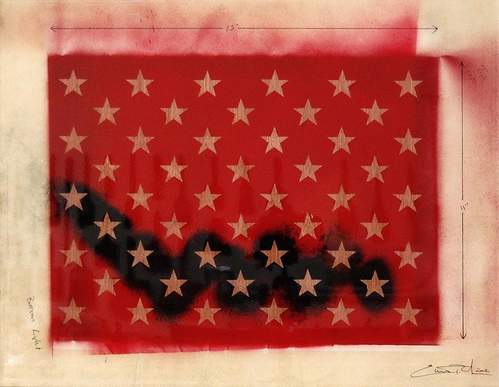 Star Template / 15 x 19 / Original Sold
