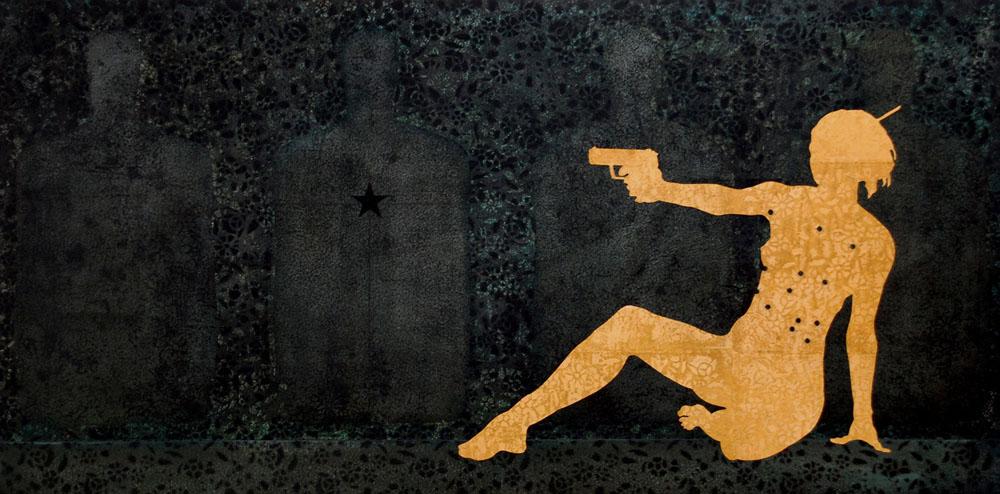 Dark Star / 30 x 48 / Original Sold