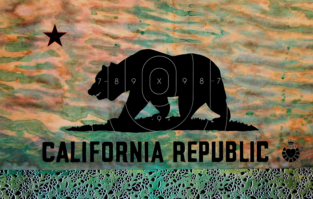 California Republic / 24 x 36 / Original Sold